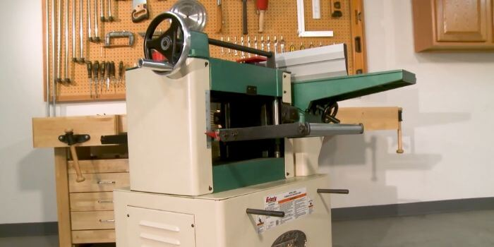 How important is a dust collector in a planer